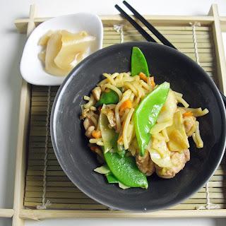 Yakisoba, Japanese Fast Food
