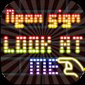 Club NeonSign LookAtMe icon