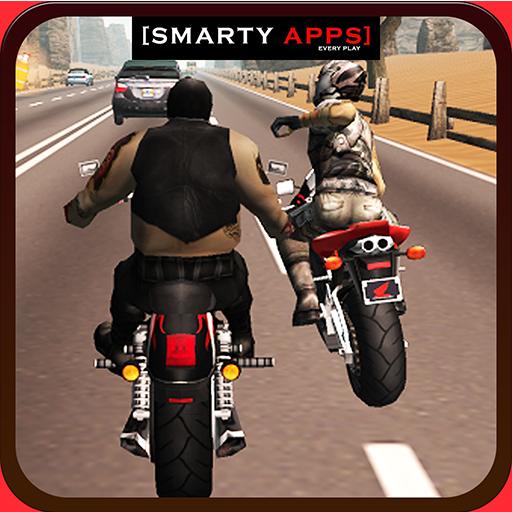 特技自行车格斗:公路 賽車遊戲 App LOGO-APP試玩