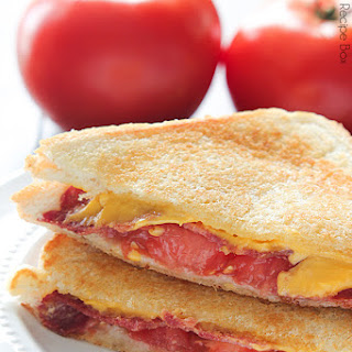 Grilled Bacon Tomato Cheese Sandwich