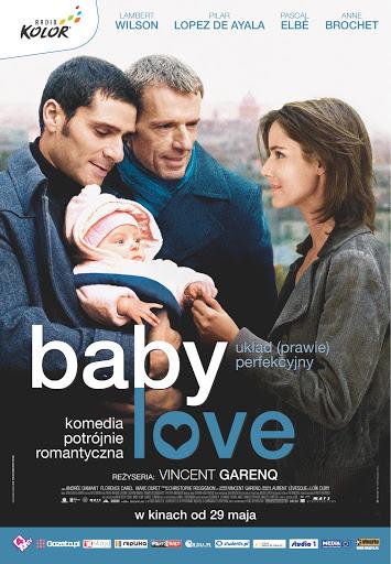 Polski plakat filmu 'Baby Love'