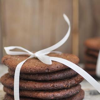 CRISPY GINGER CHOCOLATE COOKIES Recipe