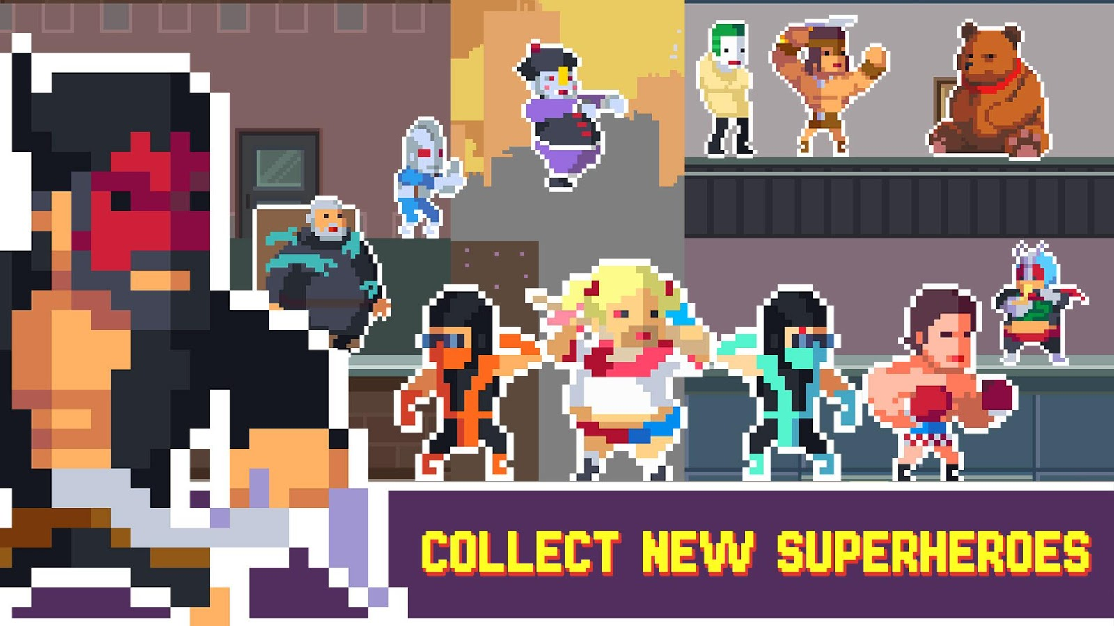 Pixel Super Heroes- screenshot