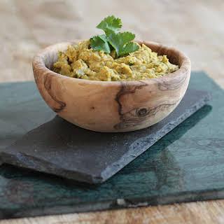Avocado And Chickpea Dip.