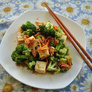 Broccoli Tofu Peanut Stir-Fry