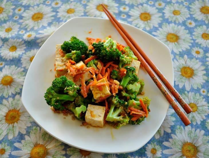 Broccoli Tofu Peanut Stir-Fry Recipe | Yummly
