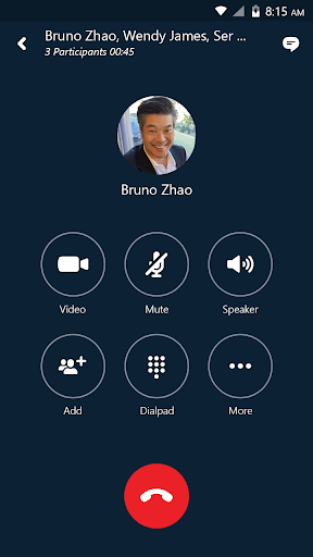 Skype for Business for Android 6.25.0.12 screenshots 1