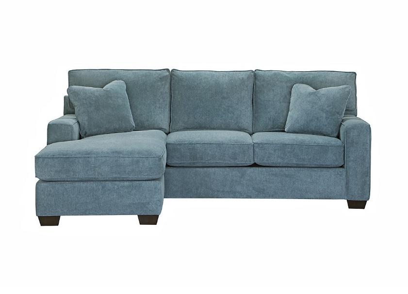 a small chaise sectional