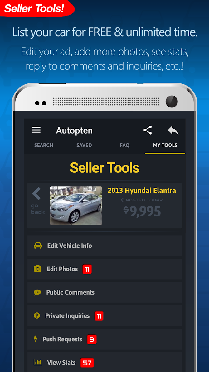 Cheap Cars For Sale - Autopten Android 5