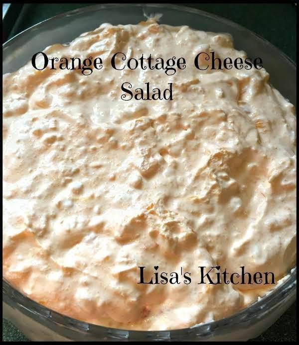 Orange Cottage Cheese Salad