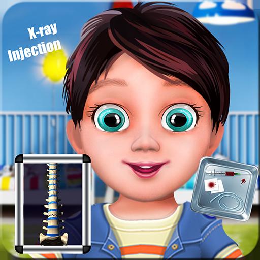 注射シミュレータの赤ちゃんゲーム 休閒 LOGO-玩APPs
