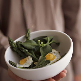 Fried Egg and Greens.