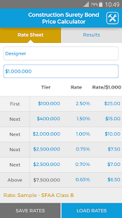 Surety Bond Price Calculator- screenshot thumbnail