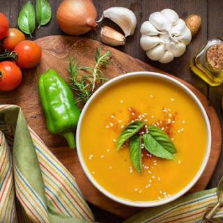 Vegan Turmeric-Ginger Veggie Soup