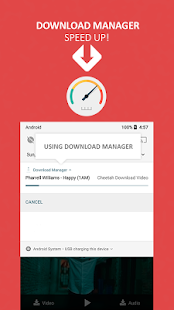 Cheetah Downloader Free - Search and download - náhled