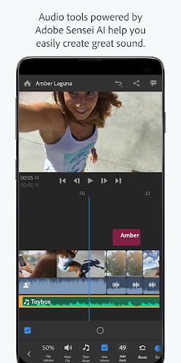 Adobe Premiere Rush u2014 Video Editor 1.5.19.3417 screenshots 6
