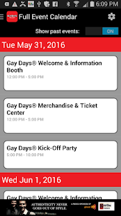 GayDays.com- screenshot thumbnail