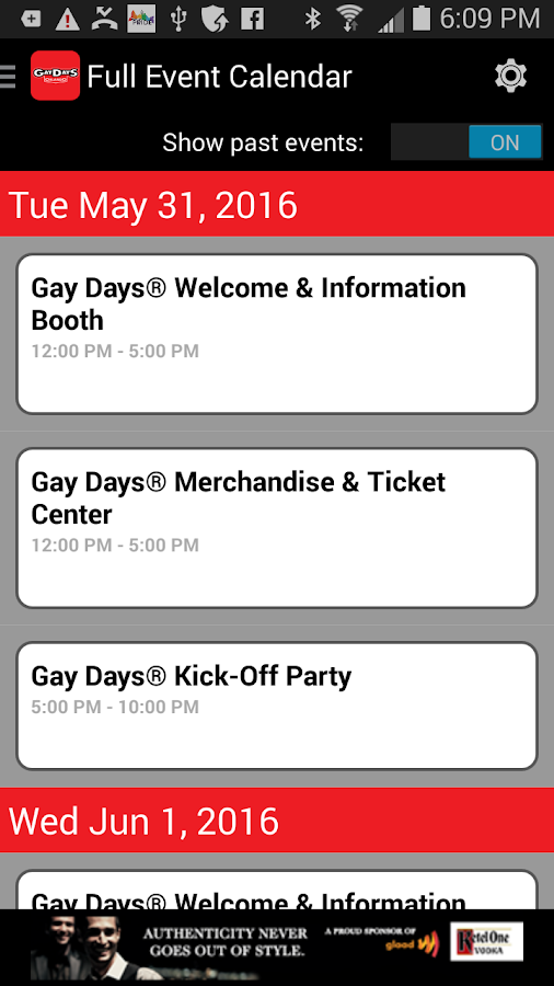 GayDays.com- screenshot