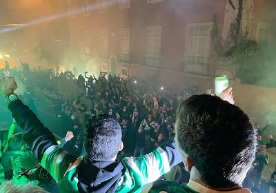 🎥 Les supporters du Sporting CP fêtent le titre dans les rues de Lisbonne