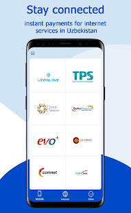 UZPAYNET: Mobile Recharge