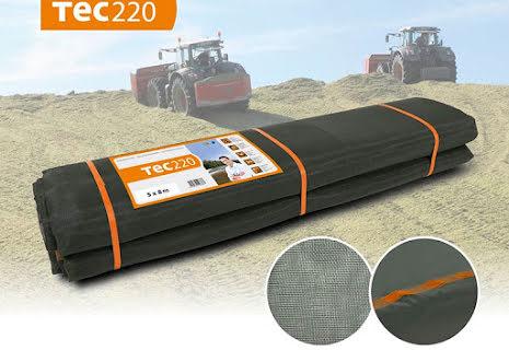 Tec220 täcknät till plansilo