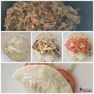 Pork Tortilla Rollups