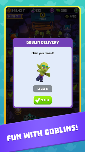 Gold and Goblins: Idle Miner screenshot 6