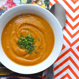 Creamy Sweet Potato Soup.