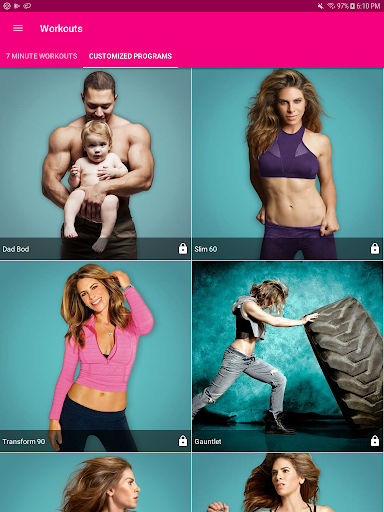 My Fitness by Jillian Michaels  screenshots 10