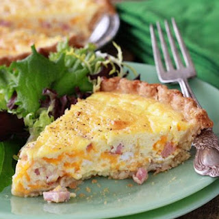 Quick and Easy Quiche.
