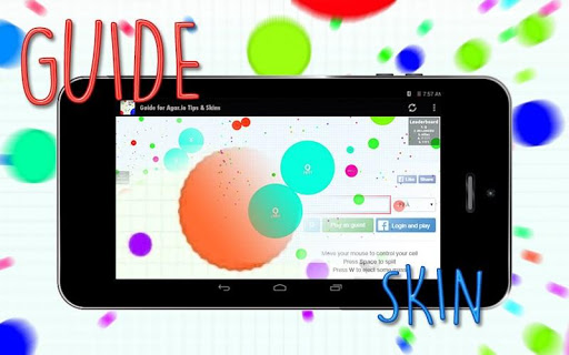 Guide for Agar.io Tips Skins