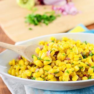 Easy Corn Salad.