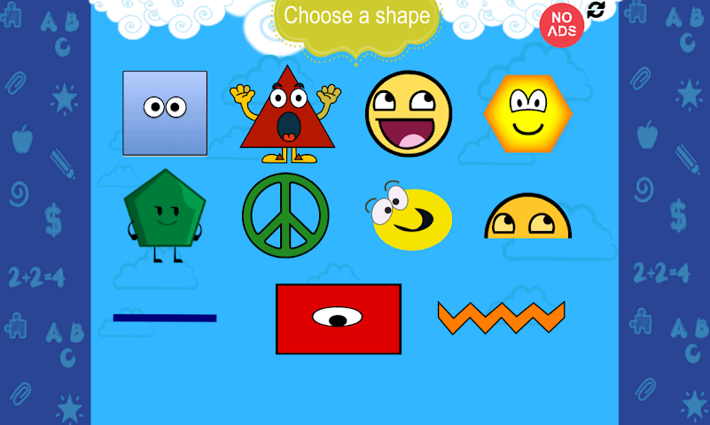 android Play Kids - Learn Shapes Screenshot 0
