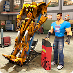 Real Robot Mechanic 3D Icon