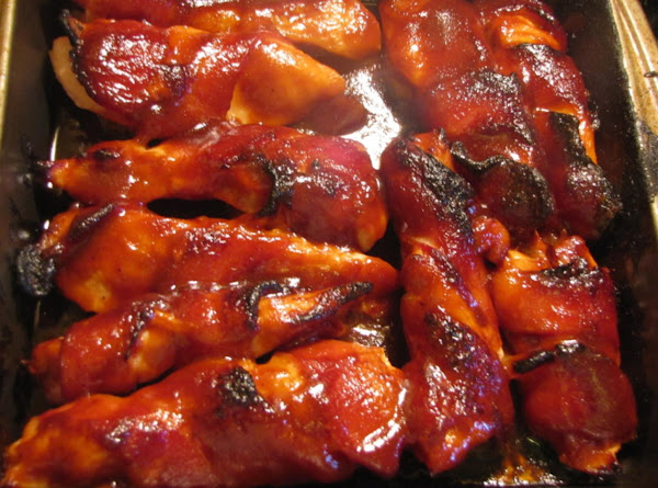Asian Bacon Wrapped Chicken Recipe