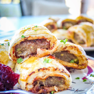 Turkey, Brie and Cranberry Rolls Recipe