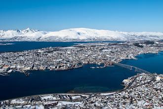 Photo: Tromsø, from Fløya
