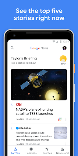 Google News 5.2.0 screenshots 1