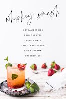 Whiskey Smash - Pinterest Pin item