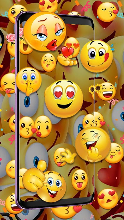 3d Emoji Live Wallpaper Hd Background Parallax Android