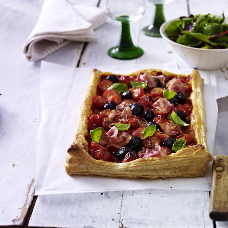 Pancetta and Tomato Tart