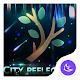 City Night Reflection-APUS Launcher theme apk