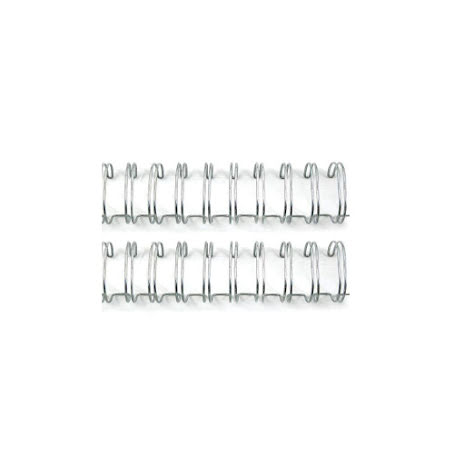 We R Memory Keepers Cinch Wires  .625inch 2/Pkg - Silver