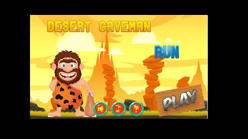 Desert Caveman