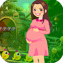 Best Escape Game 501 Pregnant Woman Rescue Game icon