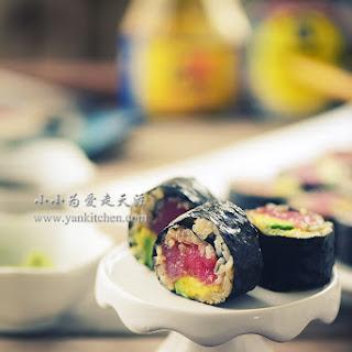 Teriyaki Tuna Rolls