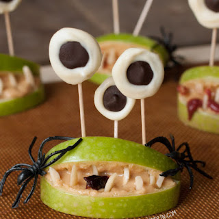 Healthy Halloween Monster Mouths Recipe