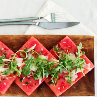 Tipsy Watermelon Salad Recipe