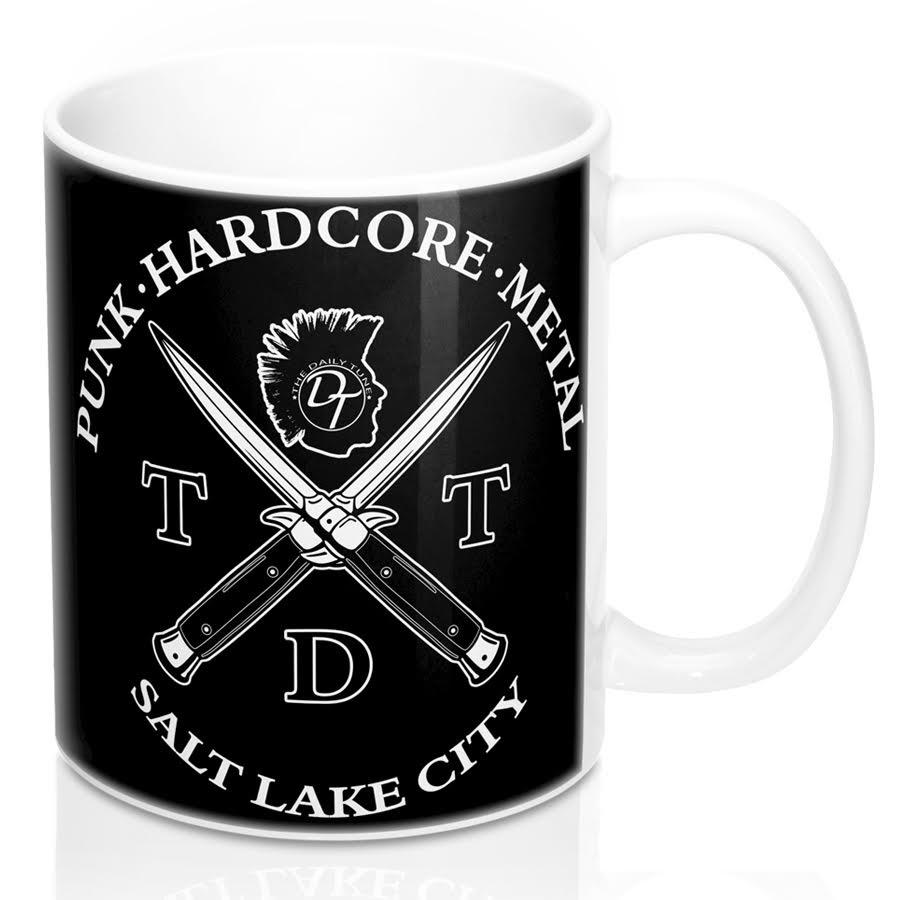 the daily tune switchblade mug
