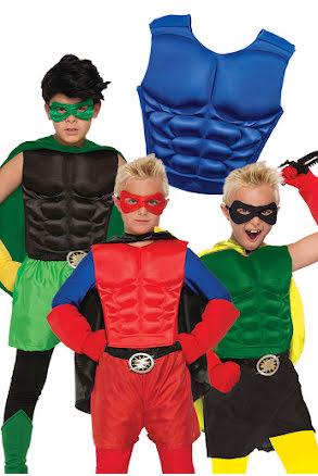 Hero bröstplatta, barn